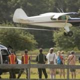 Press Herald photo of Emilie landing at Spurwink