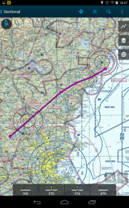 Flight plan from NH16 to Spurwink
