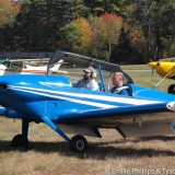 George trying the RV-4