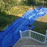 Tarps over everything