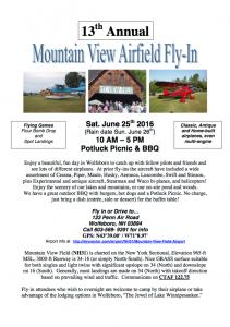 Mountain View 2016 flier
