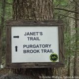 Janet's Trail - an interesting side trail.