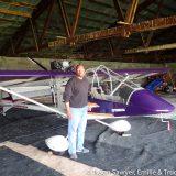Pilot at Shippensburg with his Kolb Aircraft
